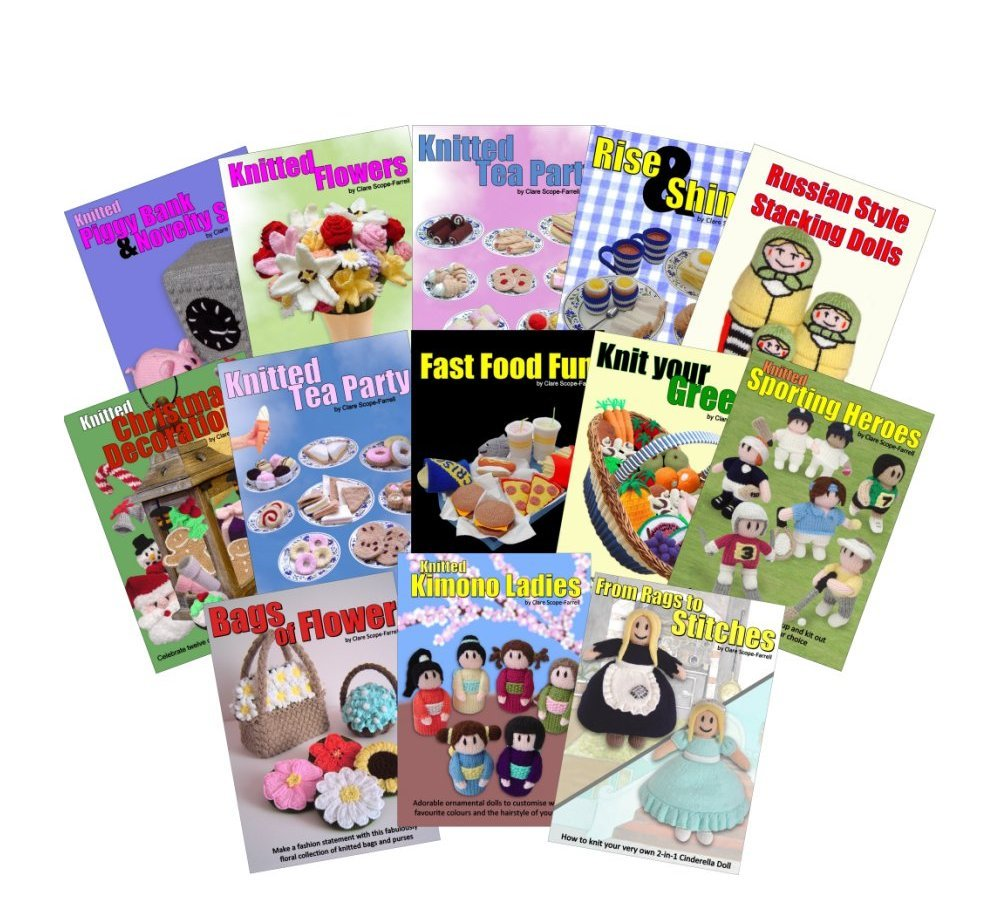 Our range of Knitting Pattern Booklets