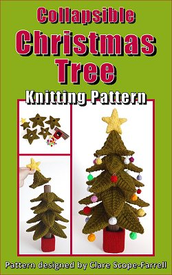 Collapsible Christmas Tree Pattern Cover
