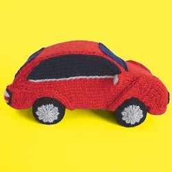Knitted Coupé Car