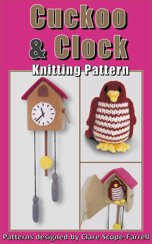 Cuckoo & Clock Pattern Cover