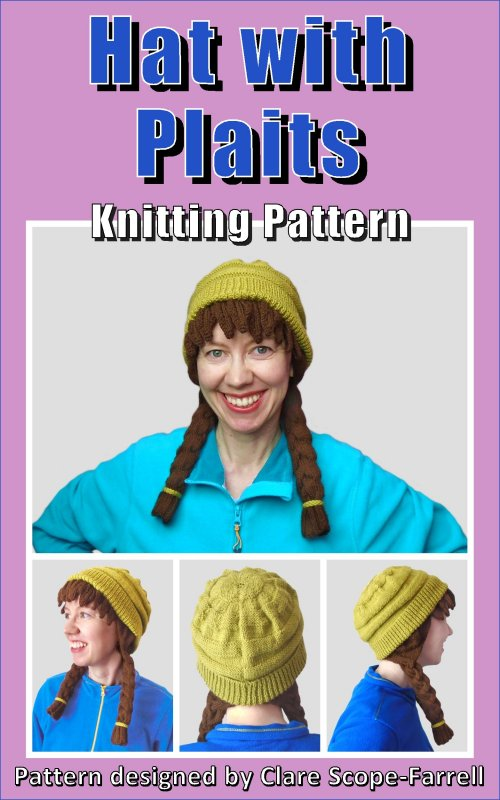 Hat with Plaits Pattern Cover