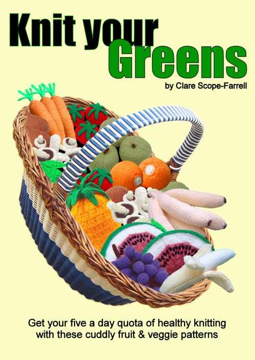 Knit Your Greens Booklet Cover