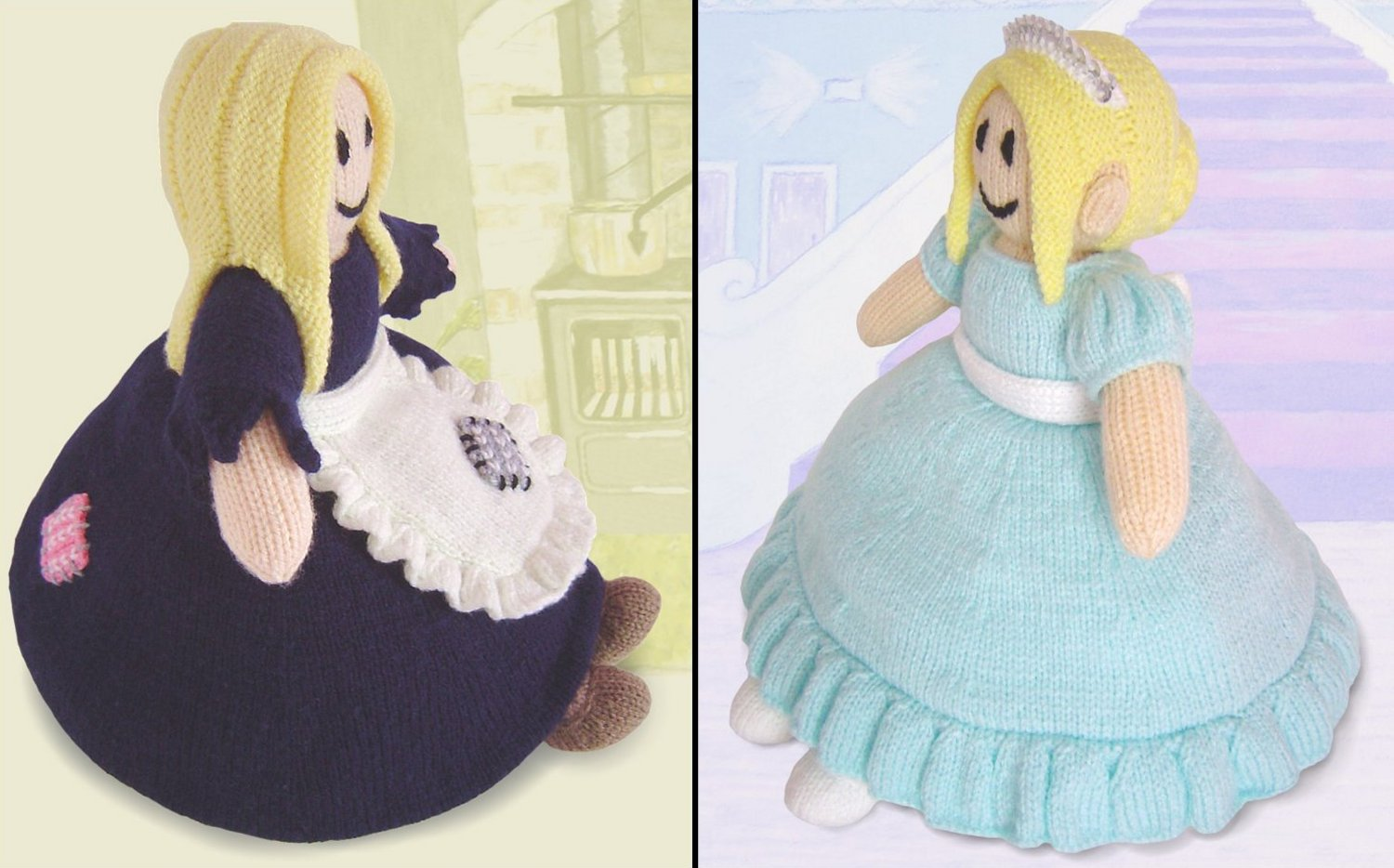 Knitted Cinderella Doll