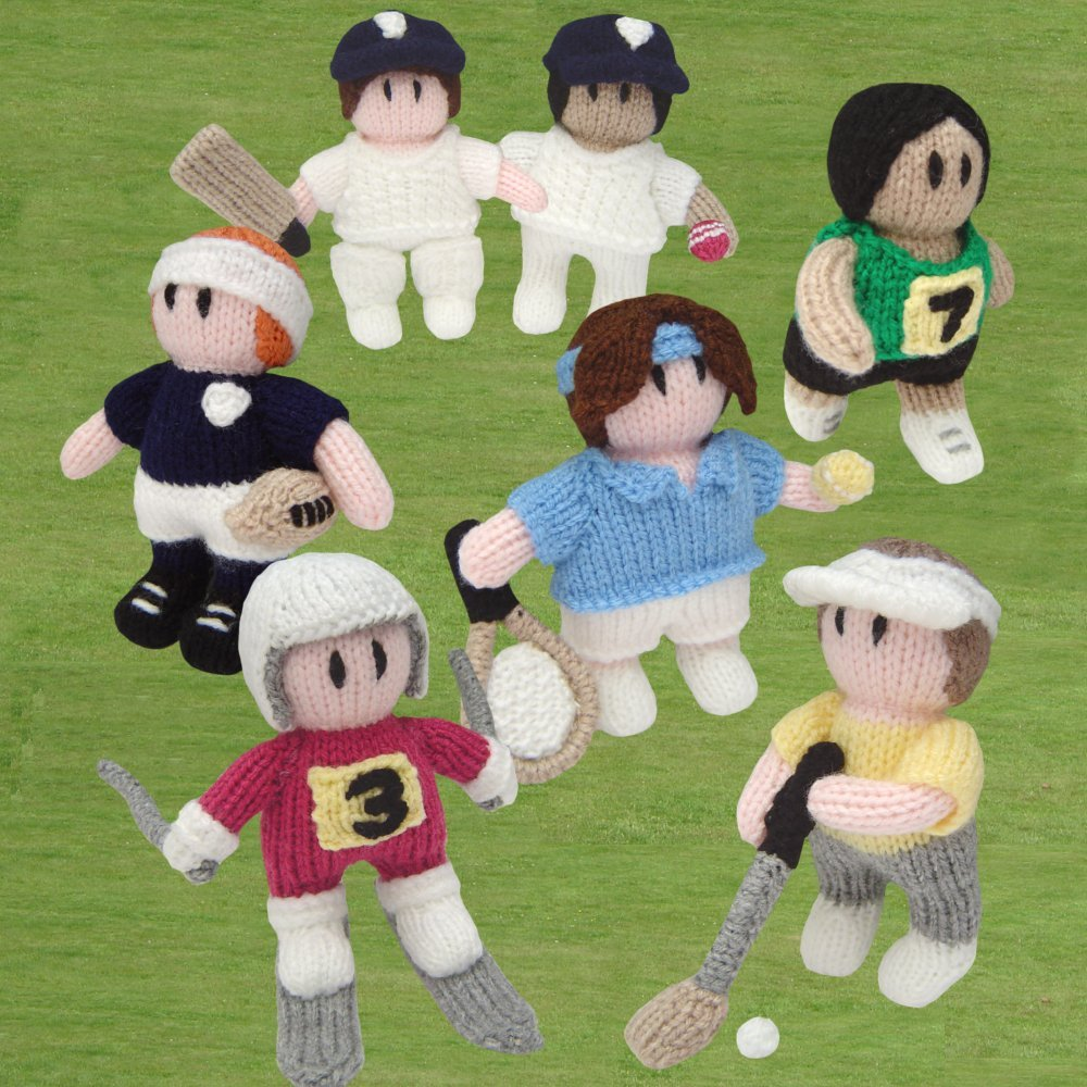 Knitted Sporting Heroes