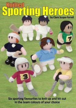 Knitted Sporting Heroes Booklet Cover