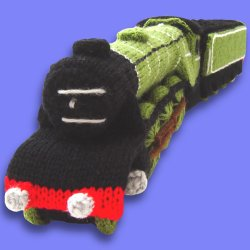 Knitted Steam Train