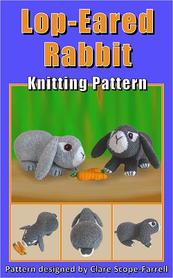 Lop-Eared Rabbit Pattern Cover