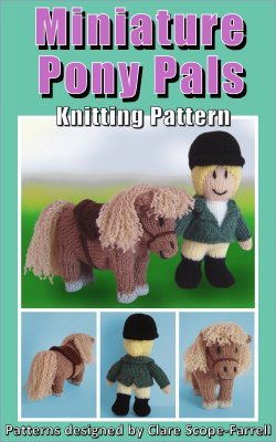 Miniature Pony Pals Pattern Cover
