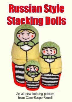 Russian Style Stacking Dolls Booklet Cover