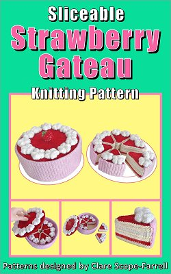 Sliceable Strawberry Gateau Pattern Cover
