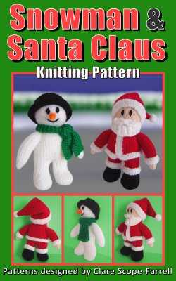 Snowman and Santa Claus Pattern Cover